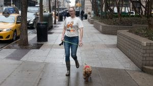 NYC dog walker Kimberly